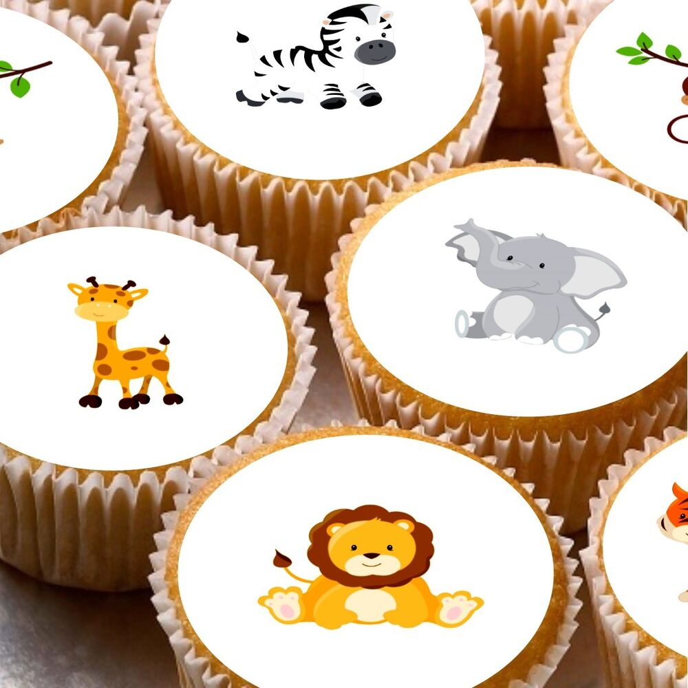 Safari Cake Toppers Uk