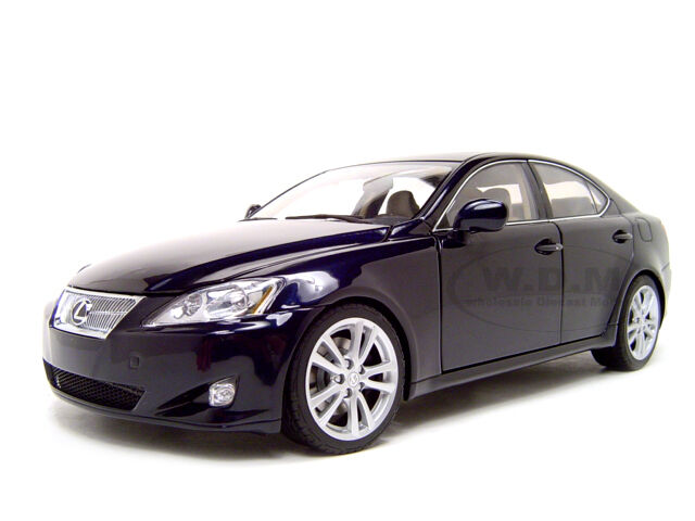 2006 lexus is 350 is350 blue 1 18 diecast car model by. Black Bedroom Furniture Sets. Home Design Ideas