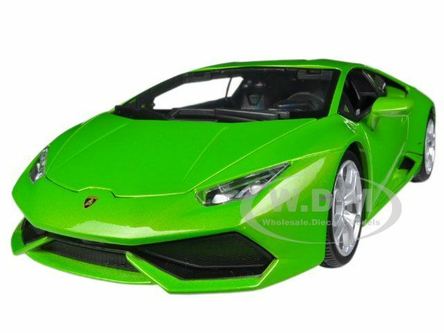 lamborghini huracan lp610 4 green 1 18 diecast car model by bburago 11038 ebay. Black Bedroom Furniture Sets. Home Design Ideas