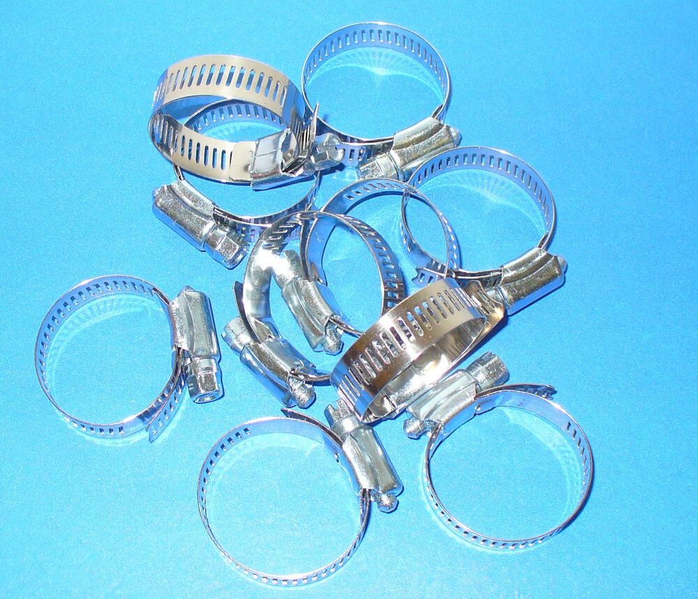 Stainless steel band hose clamp quot amgauge