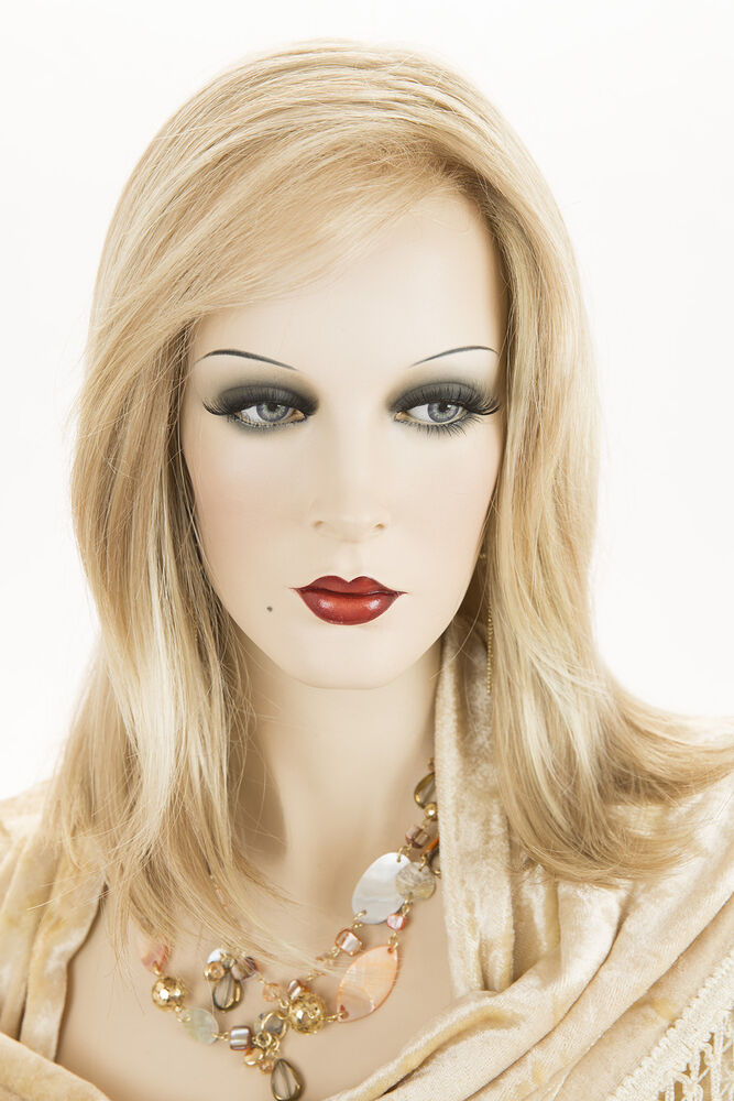 Champagne Blonde Your Light Brown: Butterscotch And Champagne Blonde Medium Lace Front