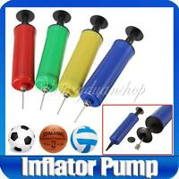 New 4 Color Soccer Football Ball Handy Inflating Air Pump Needle Adapter Sport