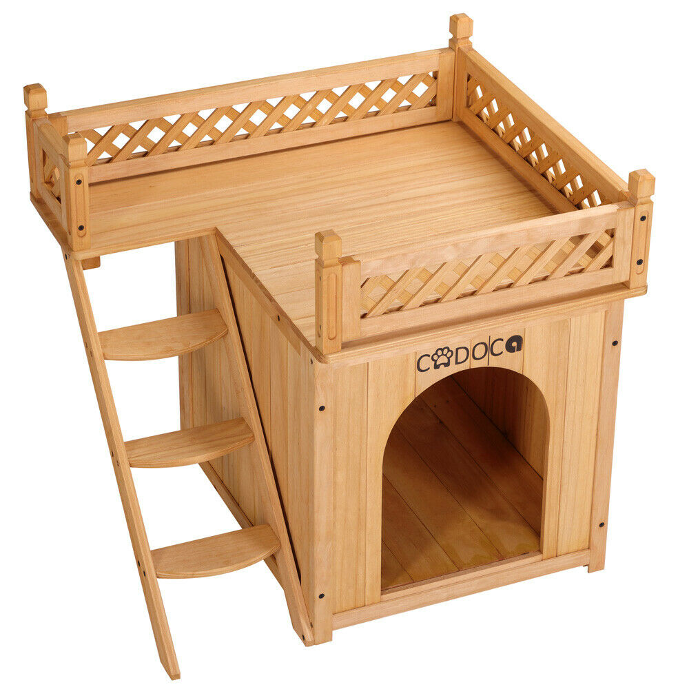 dog kennel dog house wood garden dog cage pet kennel puppy. Black Bedroom Furniture Sets. Home Design Ideas
