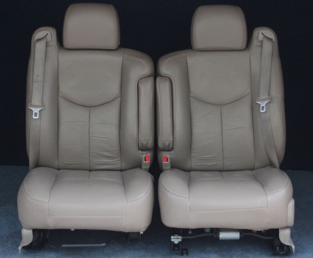 2003 2004 2005 2006 tahoe yukon suburban sierra pickup avalanche front seats ebay. Black Bedroom Furniture Sets. Home Design Ideas