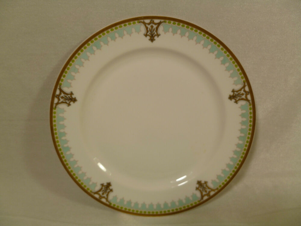 Beautiful vintage french haviland company limoges gilt for Decoration plater