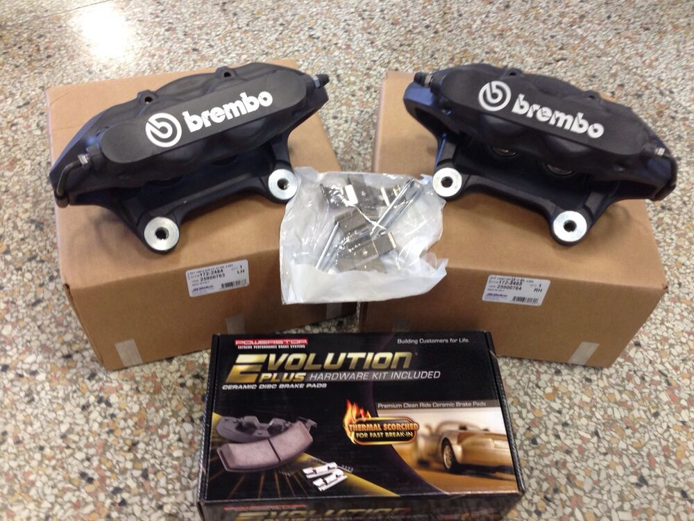 new 2008 10 chevy cobalt hhr ss lnf turbo brembo calipers w pads pin kit ebay. Black Bedroom Furniture Sets. Home Design Ideas