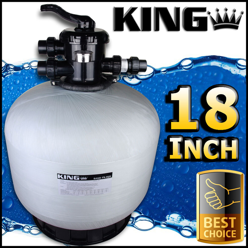 18 swimming pool sand filter 18 inch pool filter for Filtersand pool obi
