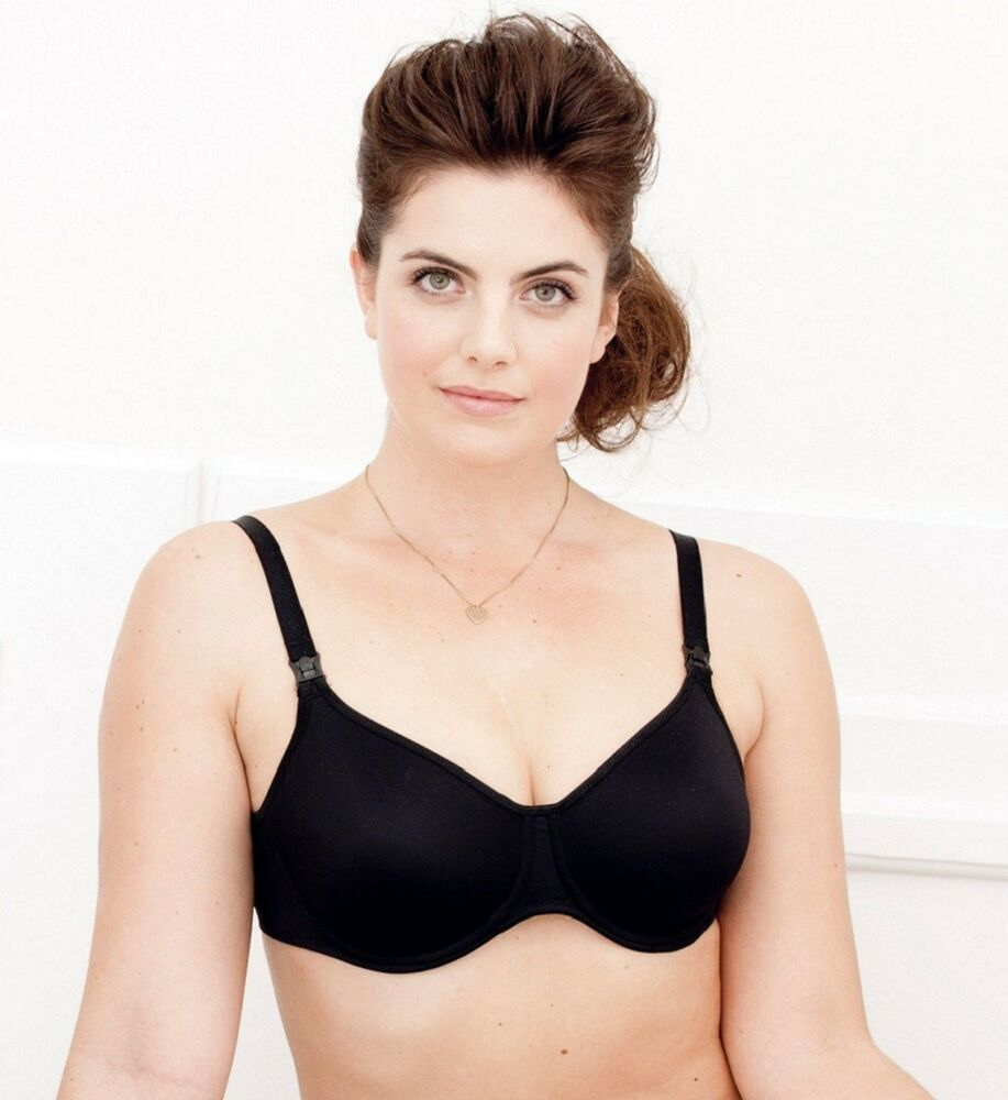 Anita 5068 Black Underwire Nursing Bra Slightly padded NWT ...