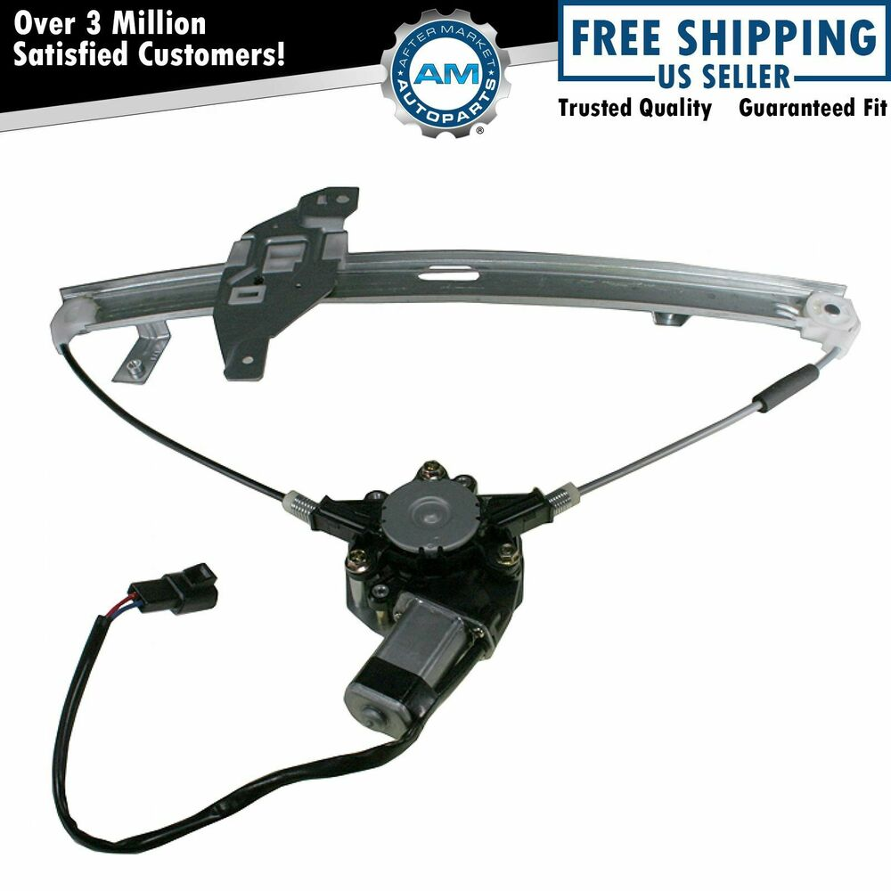 Front power window regulator w motor passenger side right Window motor and regulator cost