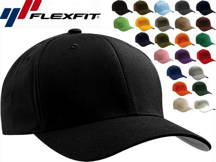 6277 flexfit wooly combed twill fitted plain baseball cap hat 6 panel s m l xl ebay. Black Bedroom Furniture Sets. Home Design Ideas