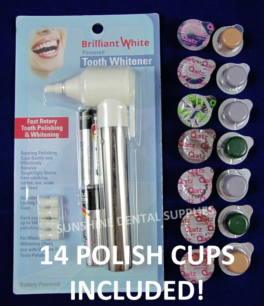 Electric Tooth Polisher Amp Multi Flavored Medium Grit Prof