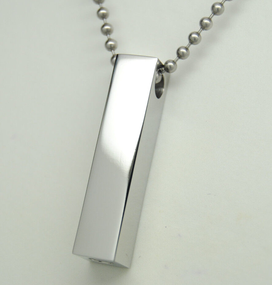 silver cremation urn necklace cremation jewelry memorial