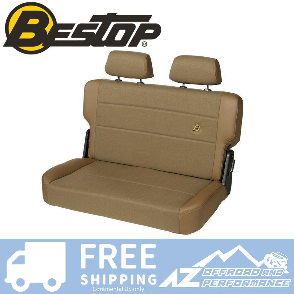 Bestop Trailmax 2 Rear Bench Seat 55 95 Jeep Cj5 Cj7