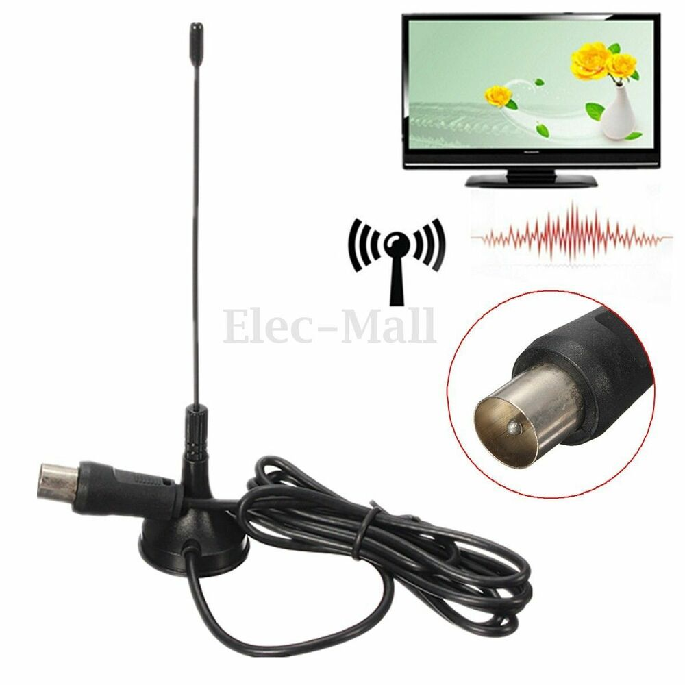 5dbi freeview dvb t tv hdtv digital booster portable antenna with magnetic base ebay. Black Bedroom Furniture Sets. Home Design Ideas