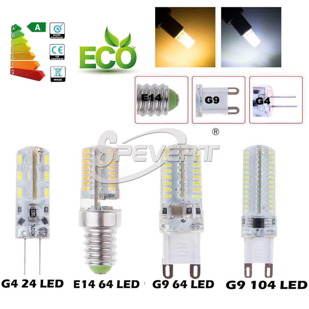 g4 g9 e14 3w 4w 5w 7w led capsule bulb replace halogen lamp led light warm cool ebay. Black Bedroom Furniture Sets. Home Design Ideas