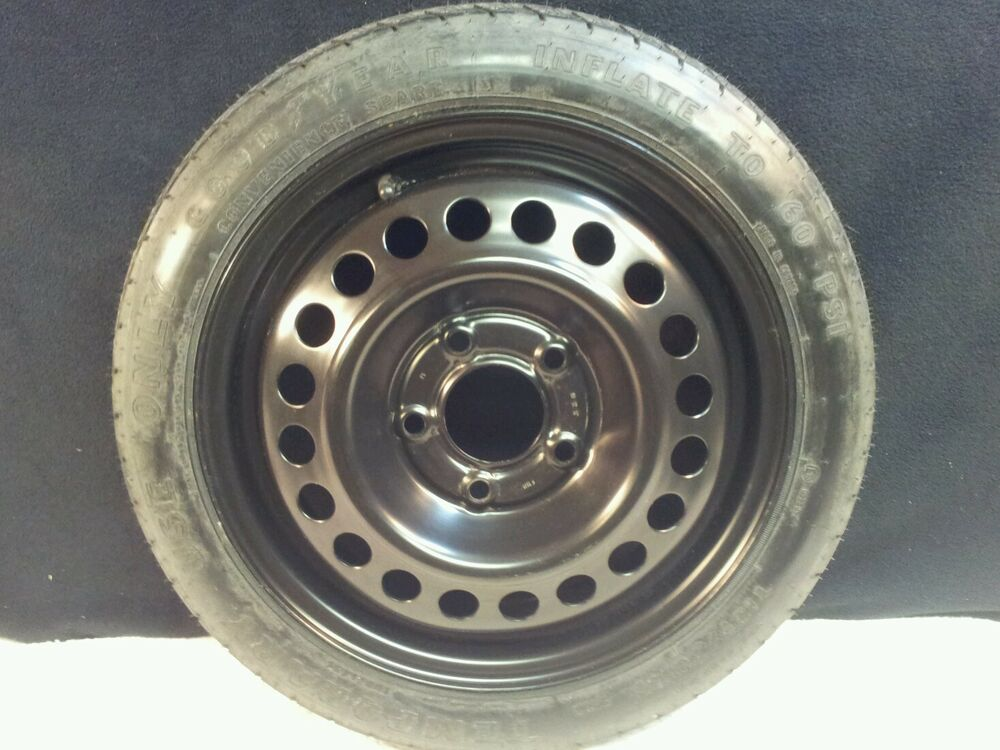 2000 pontiac grand prix oem spare tire donut emergency spare wheel ebay. Black Bedroom Furniture Sets. Home Design Ideas