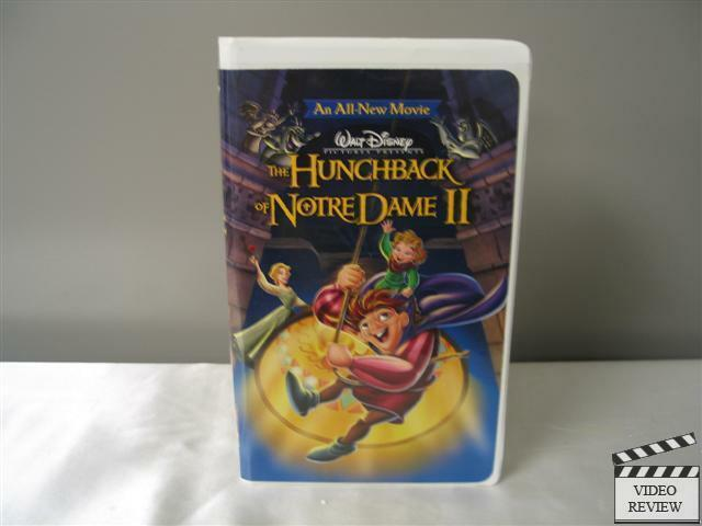 the hunchback of notre dame ii vhs 2002 large case