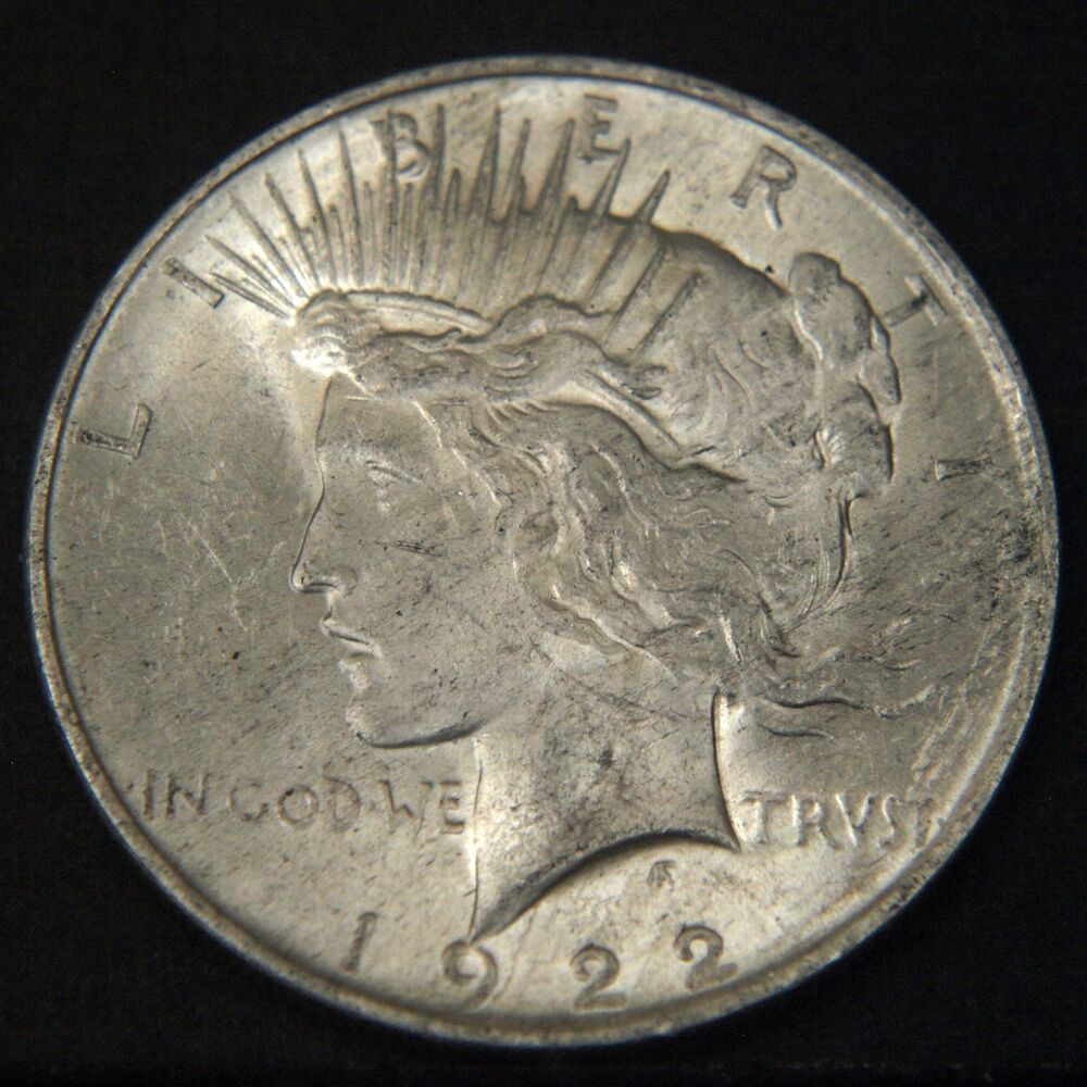 1922 Peace Silver Dollar Value Chart For Sale
