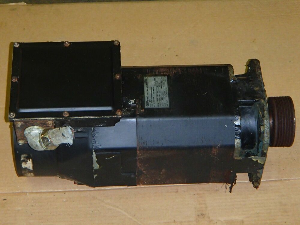 Fanuc ac spindle motor 3h a06b 1003 b306 3000 for Ge motors industrial systems