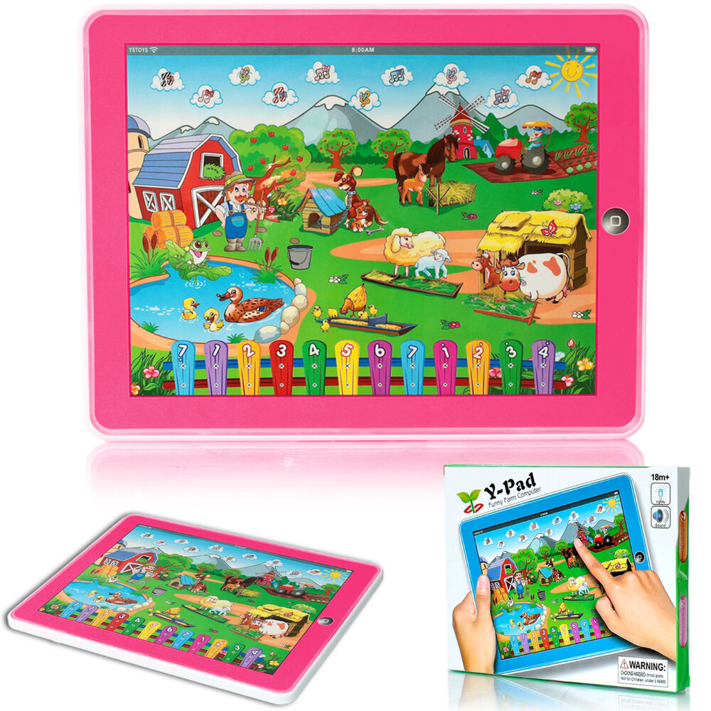 Sears Toys For Boys : Music tablet ypad farm learning educational toy gift for
