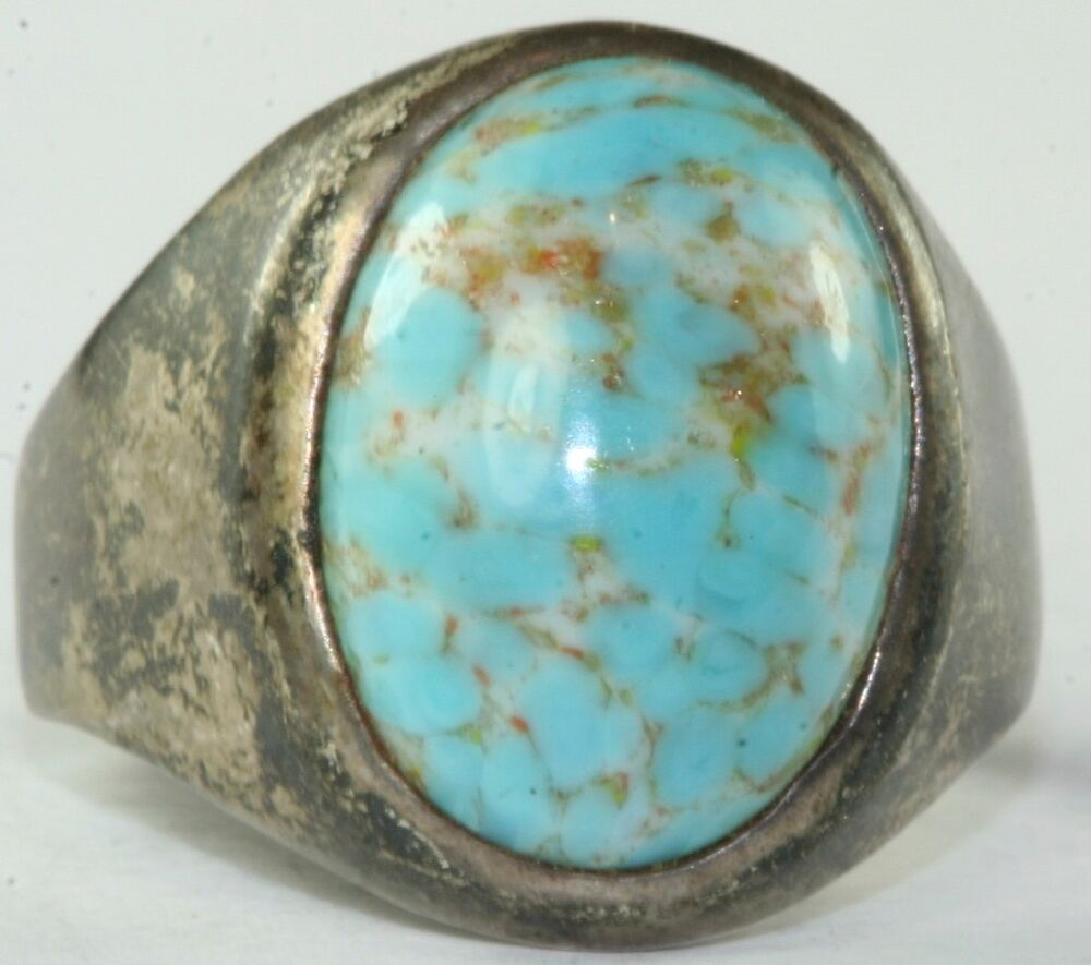 Taxco Oval Sterling Ring