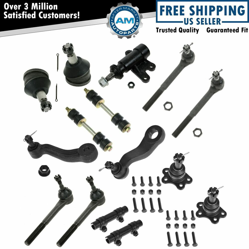 8 Piece Suspension Control Arm Tie Rod Kit Front For 92 96: For 93 94 95 96 97 98 99 C1500 Tahoe 2WD 15pc Ball Joint