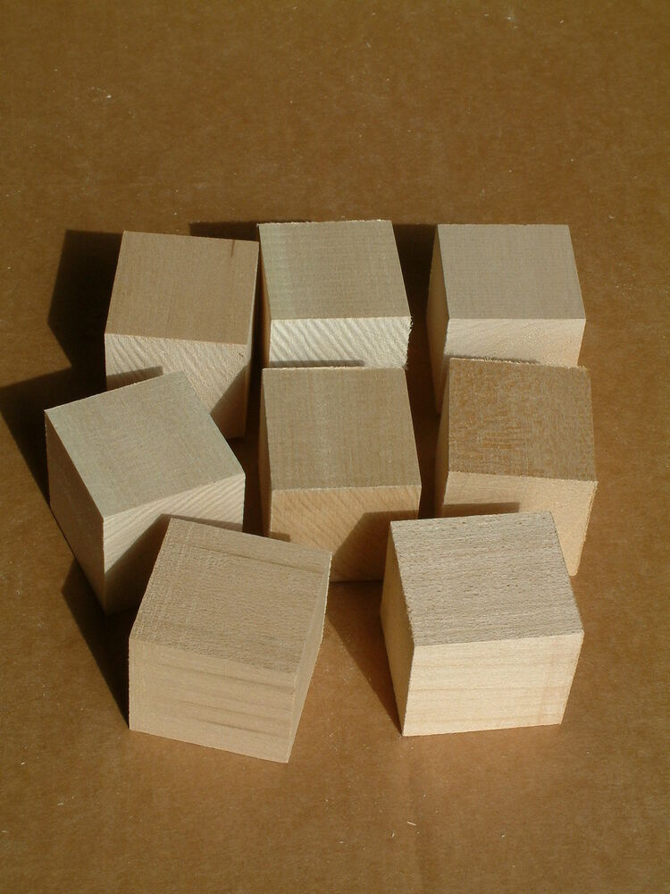 X cubes pcs basswood carving blocks wood bass