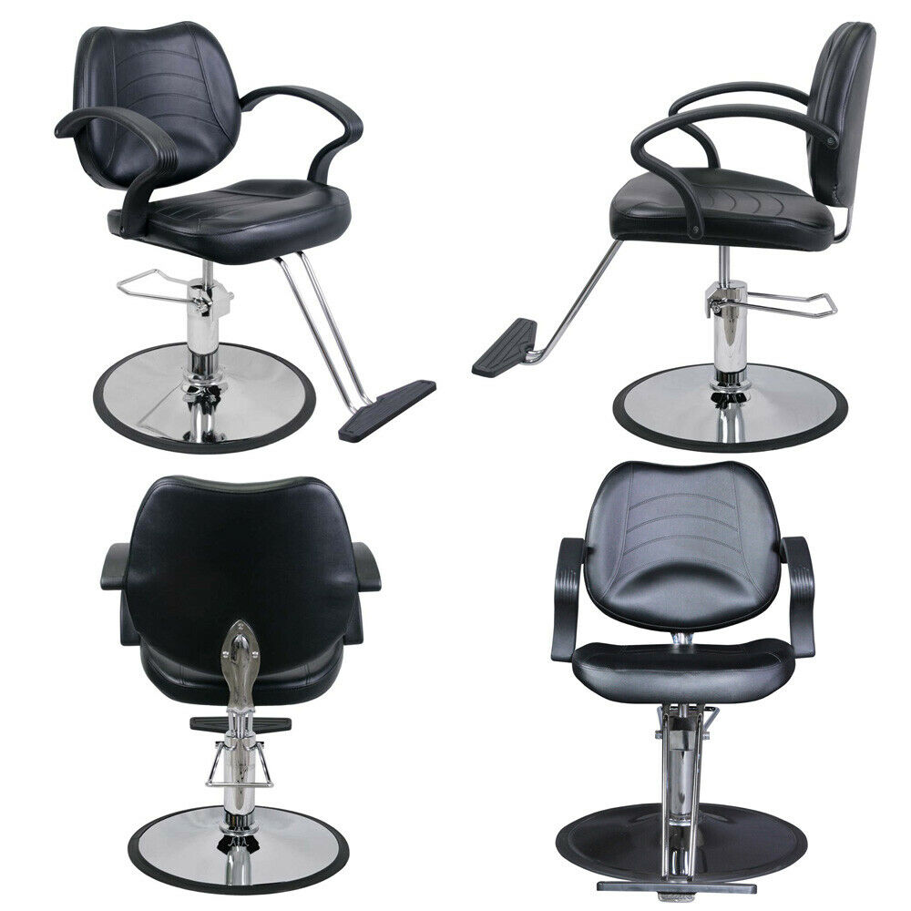 Barber beauty salon equipment hydraulic hair styling chair for Salon spa equipment