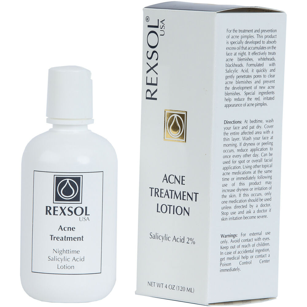 Acne treatment with salicylic acid