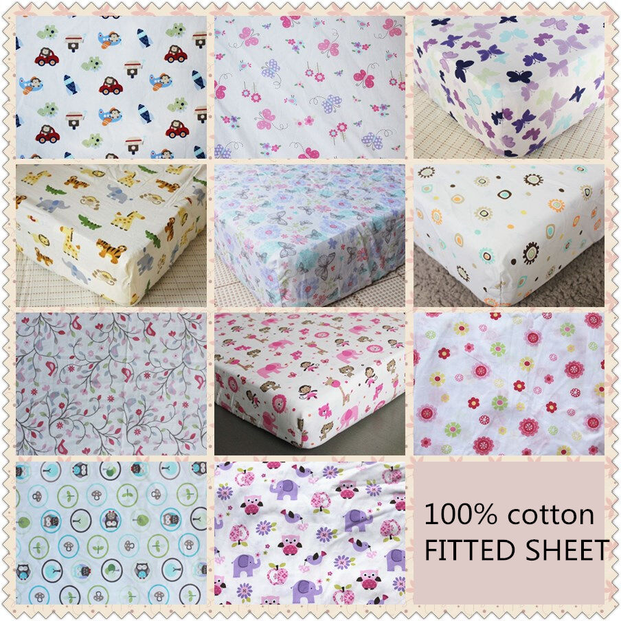 Keep your baby comfy with the Fitted Full-Size Crib Sheet from LA Baby. Designed for a perfectly snug fit, thanks to full elastic edge, it slips easily over mattresses up to .