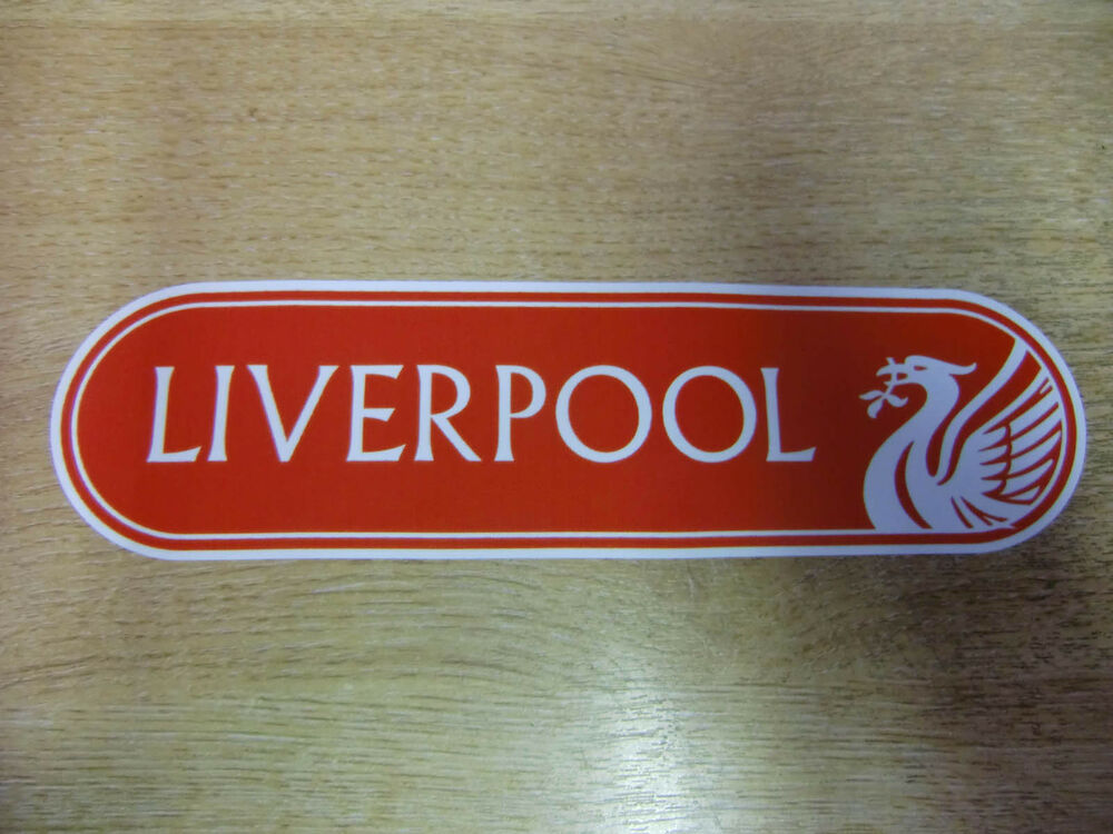 200mm liverpool liver bird decal vinyl bumper window sticker ebay. Black Bedroom Furniture Sets. Home Design Ideas