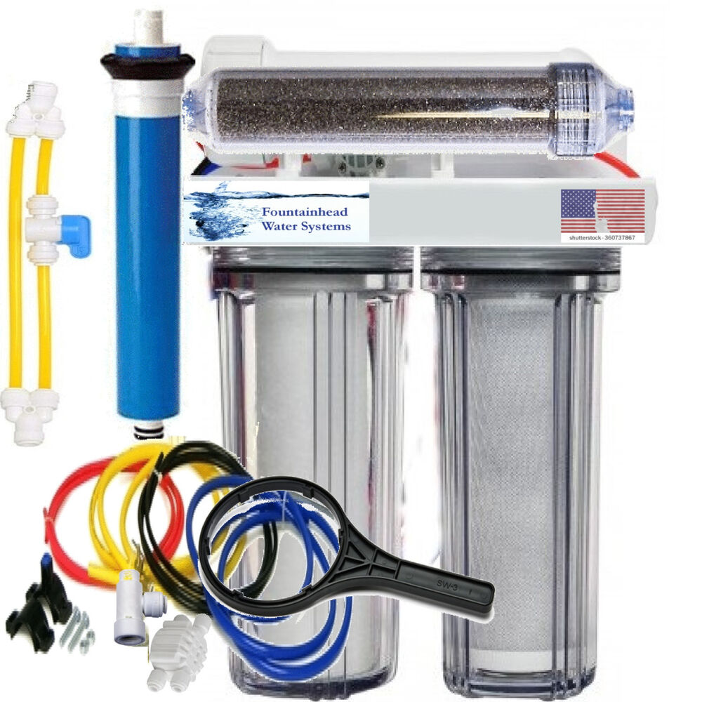 Ro Di Reverse Osmosis Aquarium Reef System 4 Stage Manual
