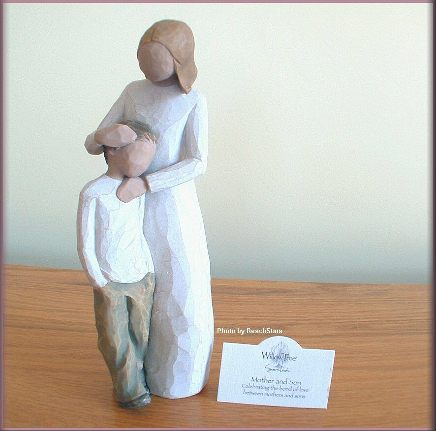 mother and son figurine from willow tree angels free u s. Black Bedroom Furniture Sets. Home Design Ideas