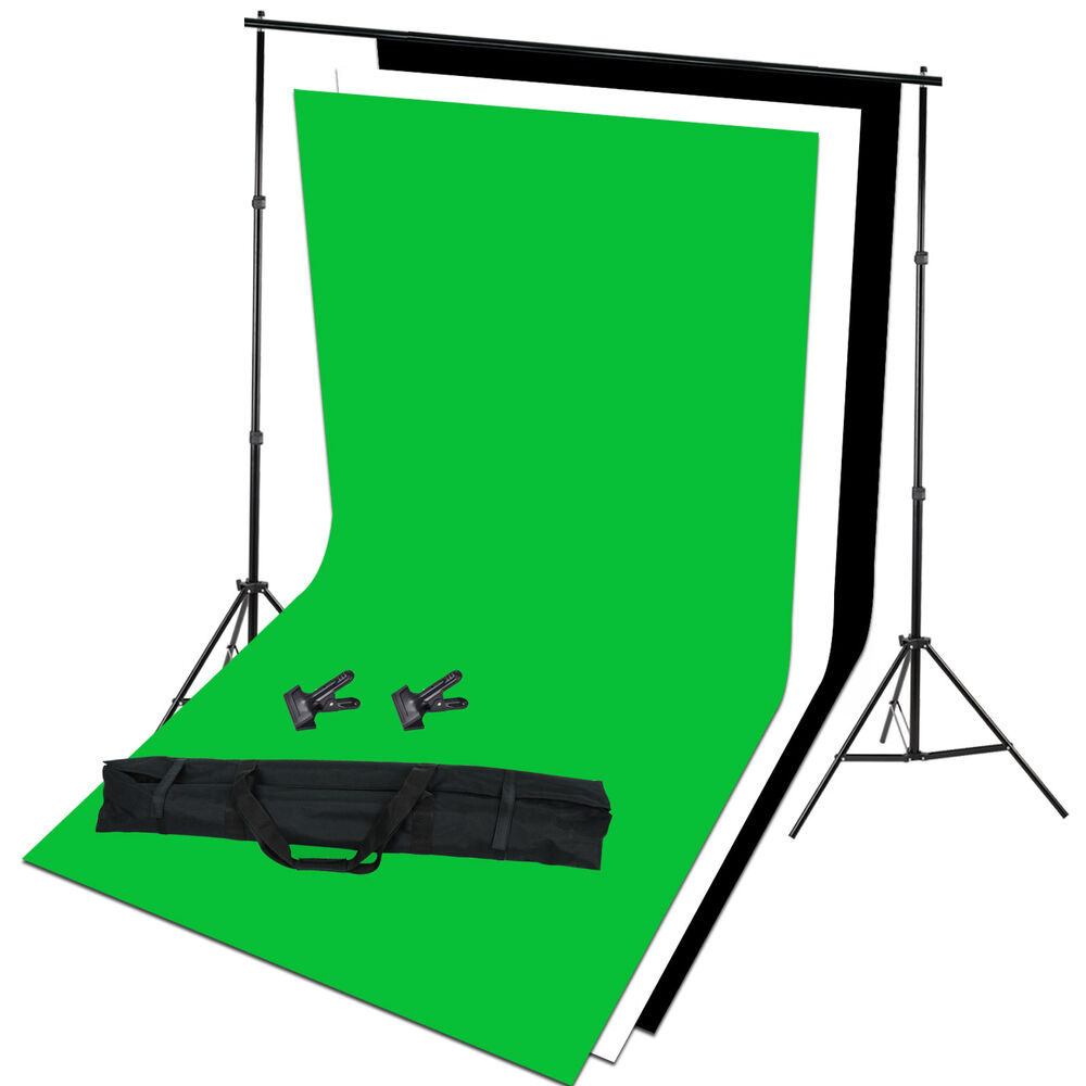 photo studio background support white black green screen. Black Bedroom Furniture Sets. Home Design Ideas