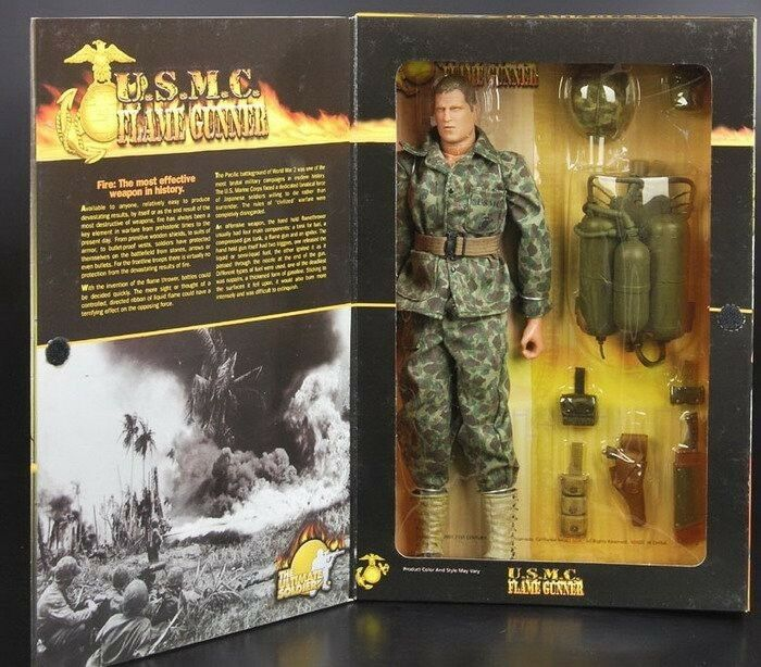21st THE Ultimate Soldier WWII USMC FLAME GUNNER 1/6 ...