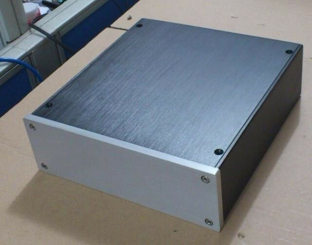 S 2207 aluminum enclosure dac case amplifier chassis diy for Chassis aluminium