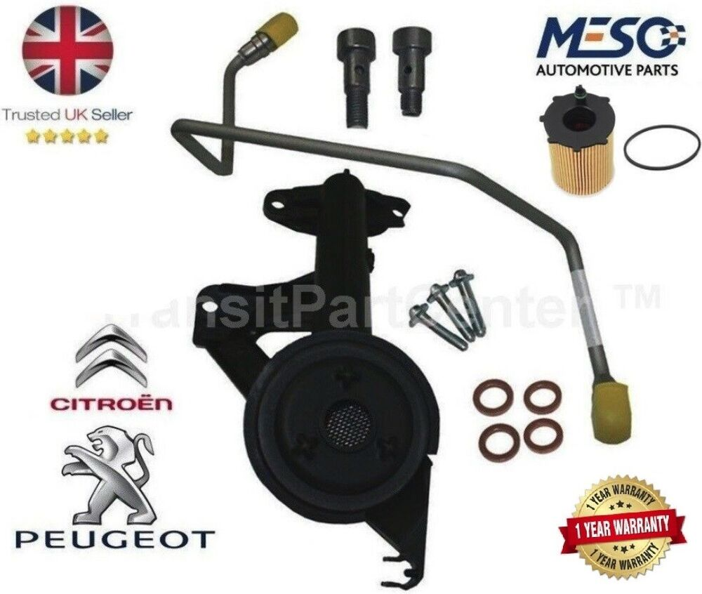 genuine turbo fitting kit peugeot 207 307 308 407 1007 3008 5008 1 6 hdi 110 ps ebay. Black Bedroom Furniture Sets. Home Design Ideas