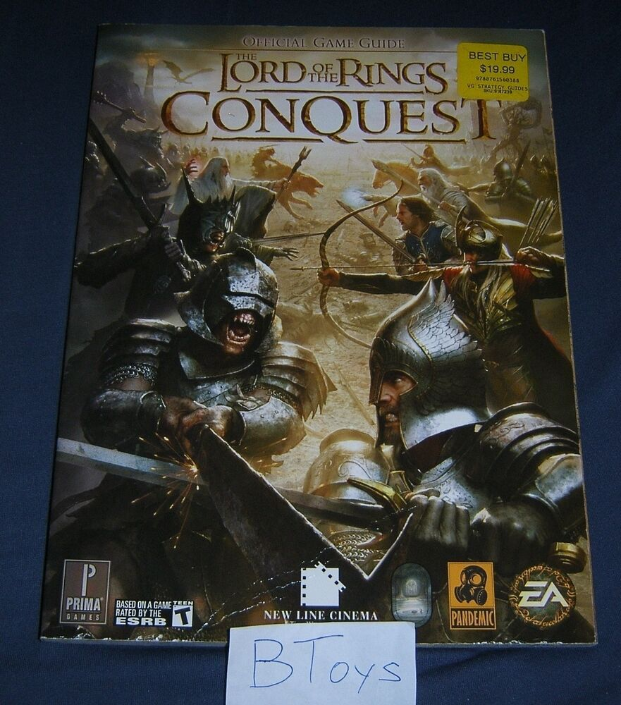 lord of the rings conquest official strategy guide pc ps3. Black Bedroom Furniture Sets. Home Design Ideas