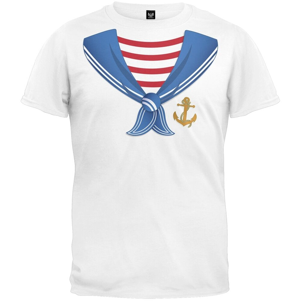 Sailor costume youth t shirt ebay for Costume t shirts online