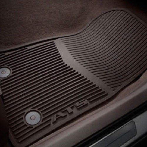 Gm 22927633 Front And Rear Premium All Weather Floor Mats