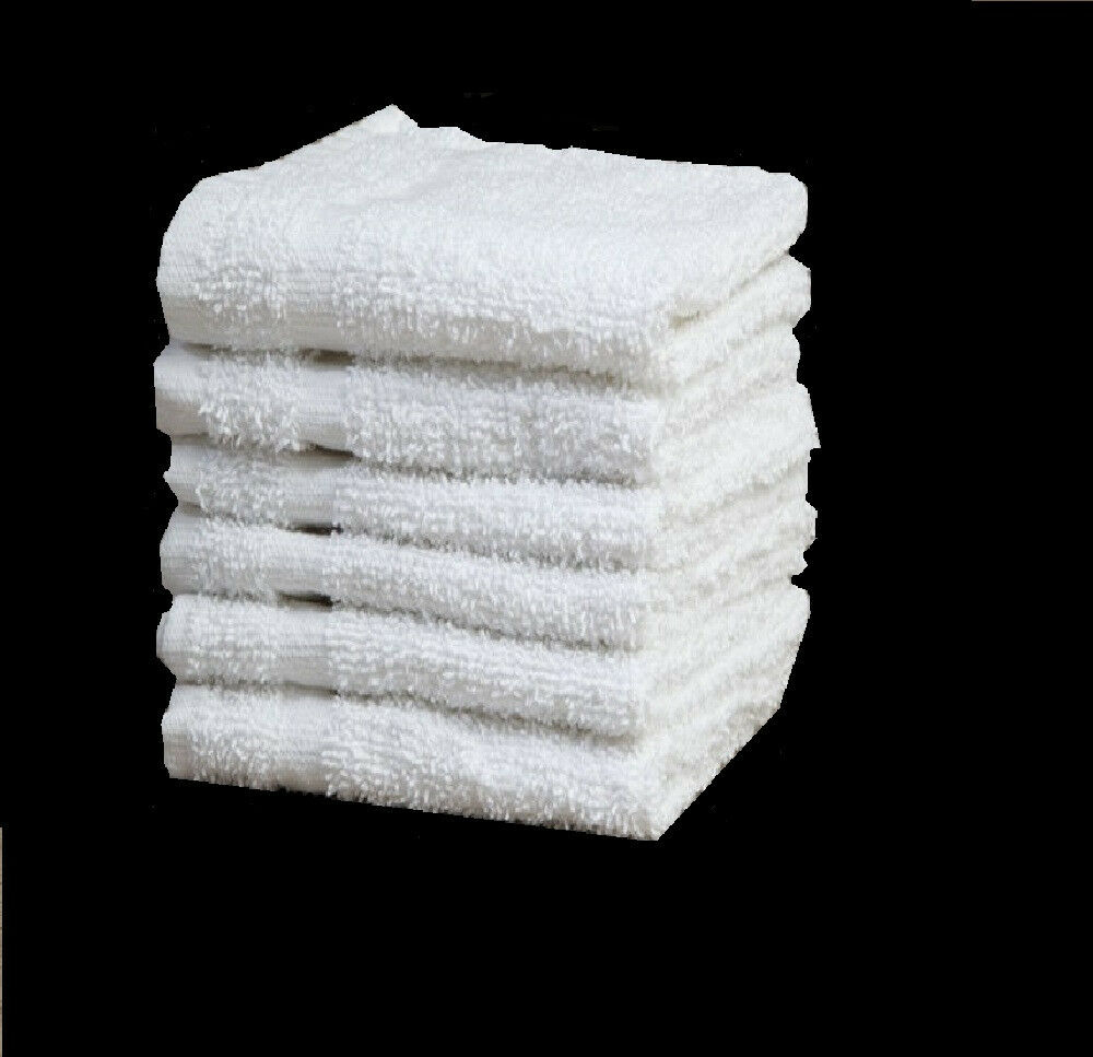 80 New Cotton Terry Cloth Cleaning Towels Shop Rags 12x12