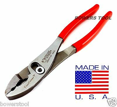 "Wilde Tool 10"" Inch Combination Slip Joint Pliers Flush Fastener MADE IN USA"
