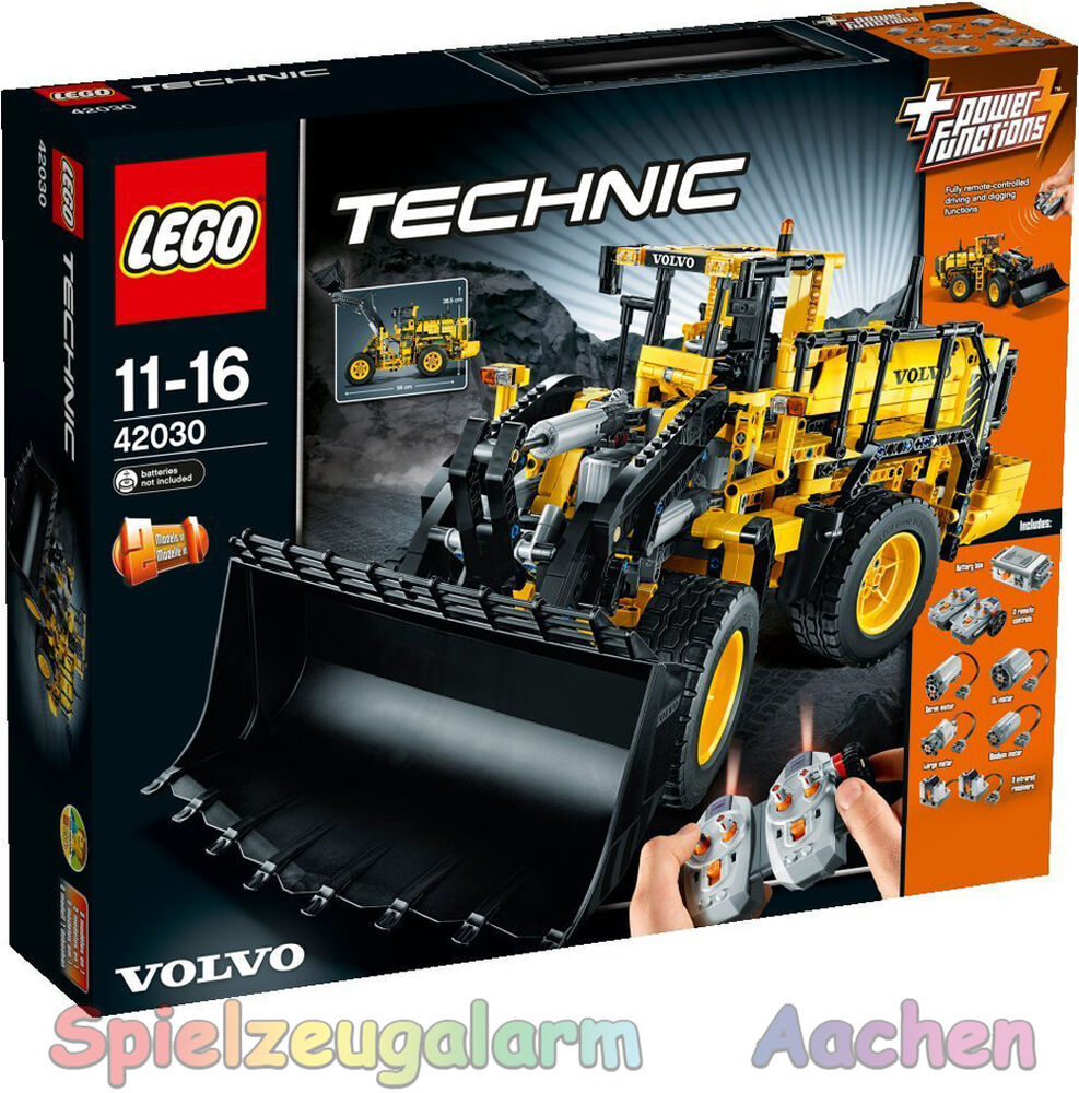 lego technic 42030 volvo l350f radlader remote controlled. Black Bedroom Furniture Sets. Home Design Ideas