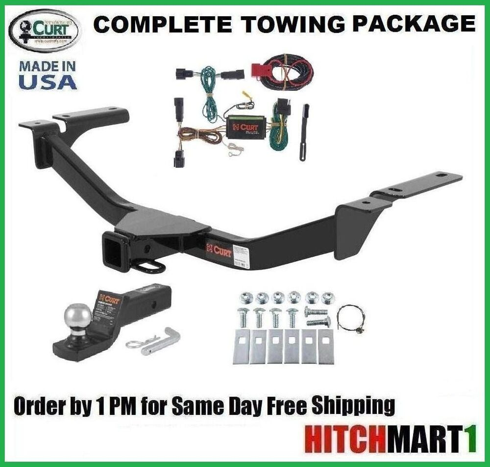 curt trailer hitch package for 2011