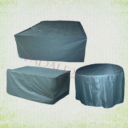 Various Sizes Garden Furniture Cover Patio Table Chairs Set Water Dust Proo