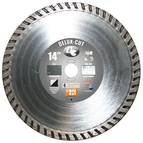 New Diamond Products 21134 Turbo Masonry 4 1 2 Quot T7d Delux