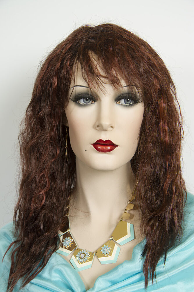 Dark Auburn Highlight Fox Red Blonde Long Medium Wavy