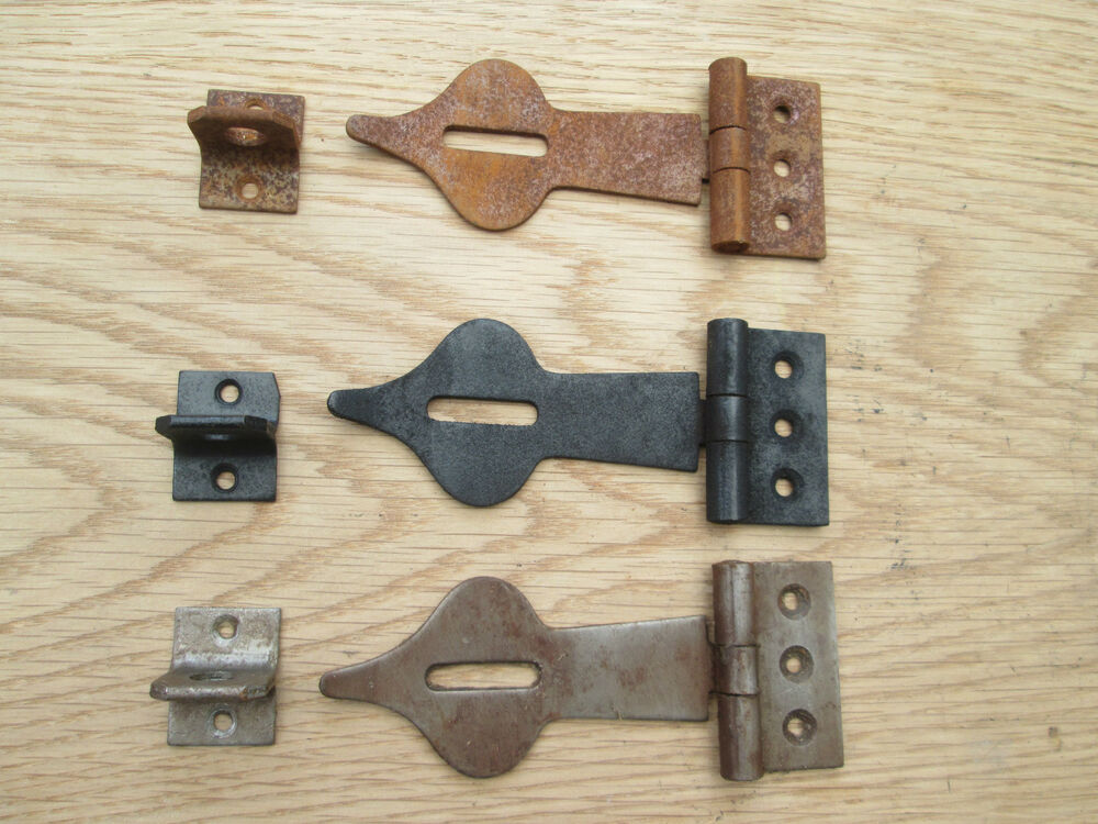 Decorative Safety Hasp And Staple Door Latch Lock For