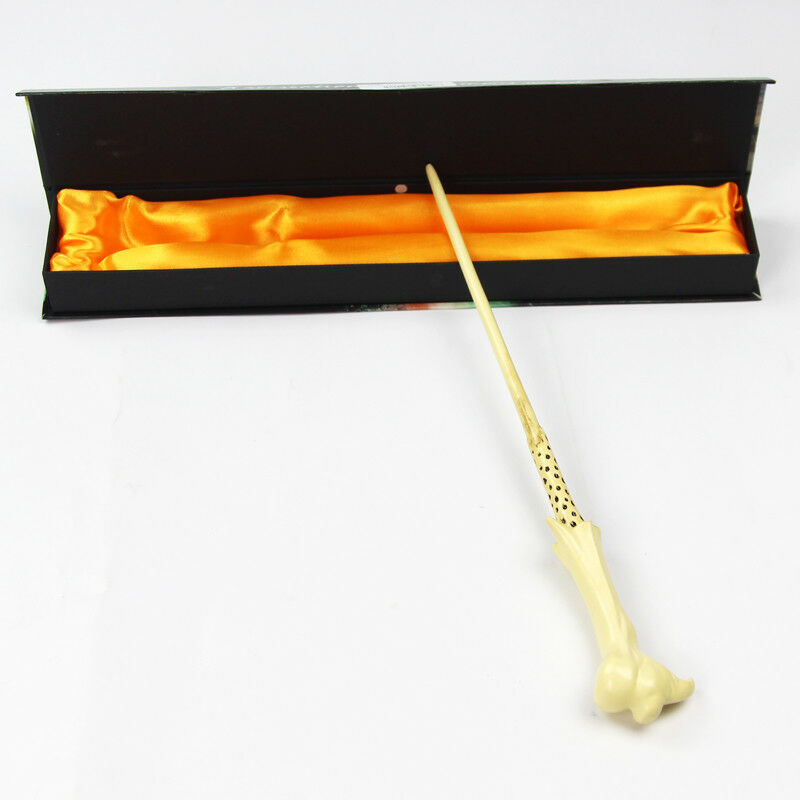 1 harry potter lord voldemort pvc resin 36cm magic wand magic stick in gift box ebay. Black Bedroom Furniture Sets. Home Design Ideas