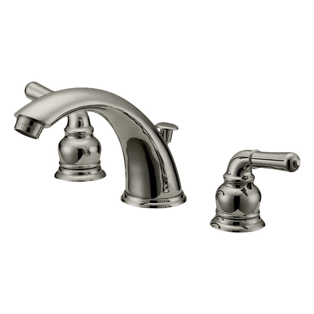 bathroom faucets lb4b brushed nickel finish 6 12 inches